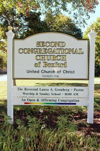 Church Sign ONA Rainbow